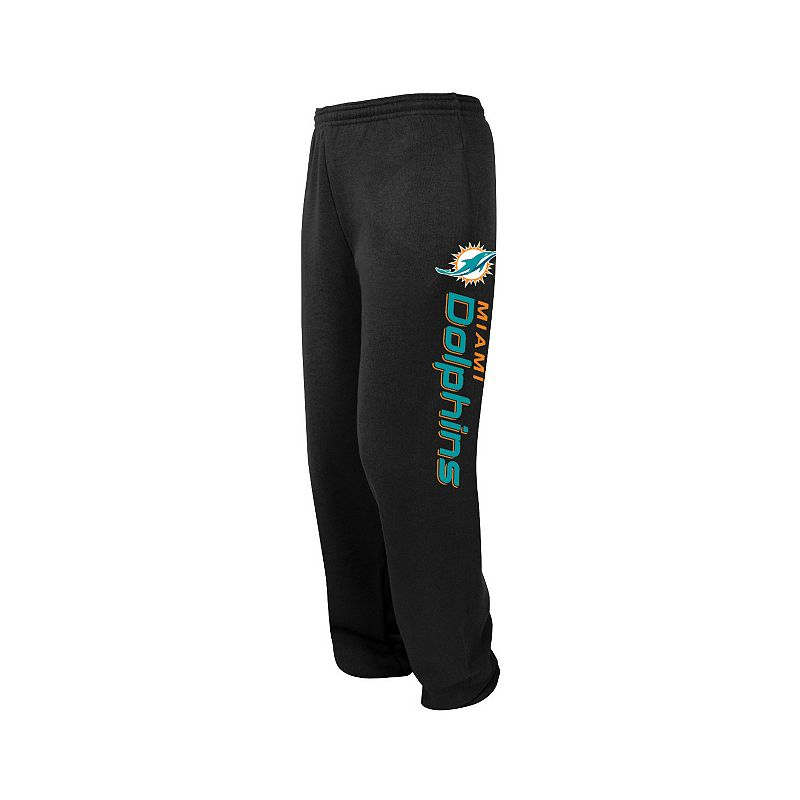 Big & Tall Majestic Miami Dolphins Tipped Pass Fleece Pants
