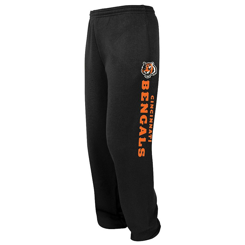 Big & Tall Majestic Cincinnati Bengals Tipped Pass Fleece Pants