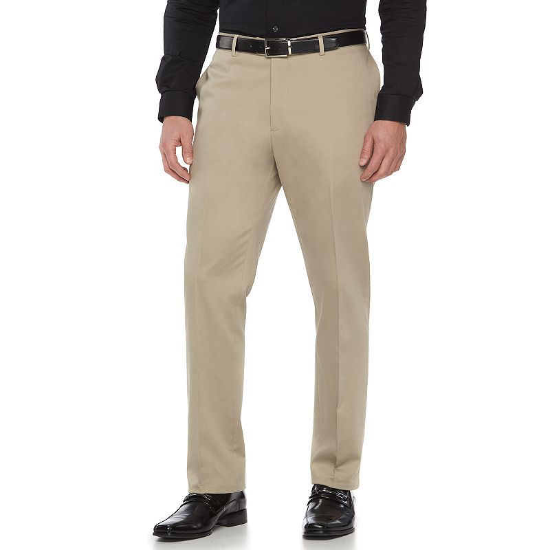 Men's Apt. 9 Tan Extra-Slim Suit Pants