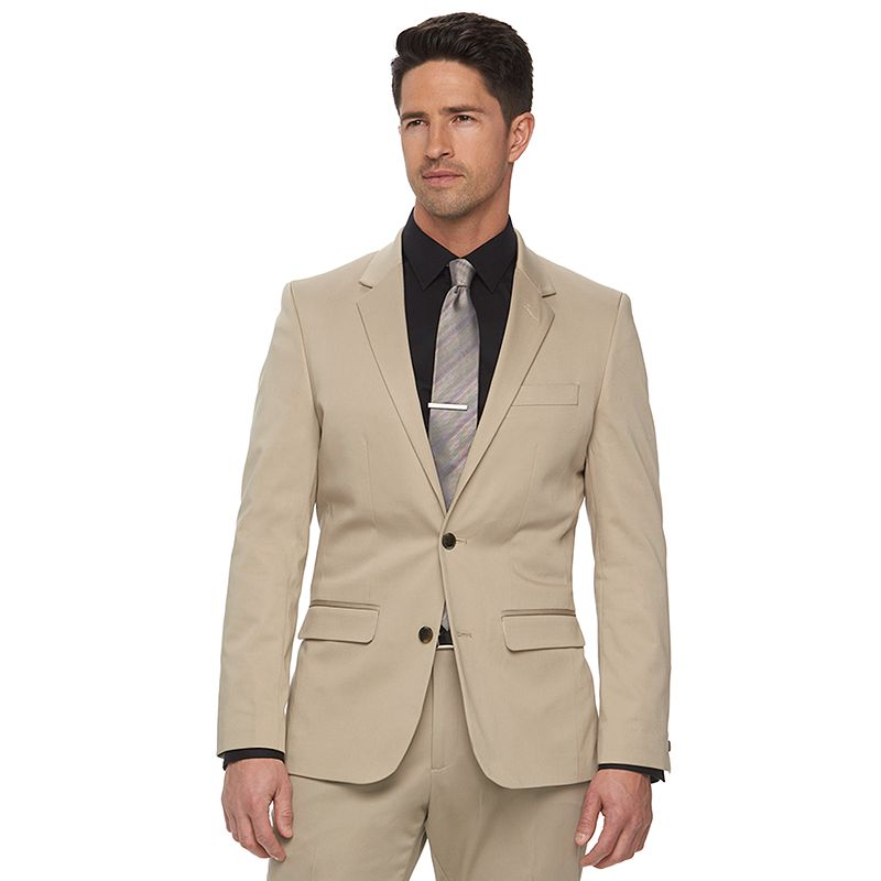 Men's Apt. 9 Tan Extra-Slim Suit Jacket