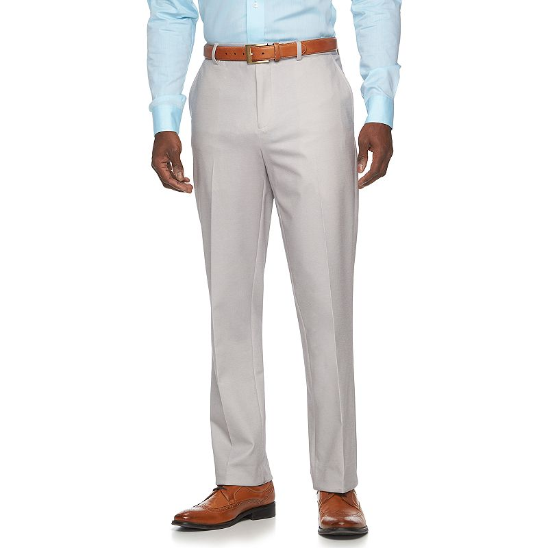 Men's Apt. 9® Knit Slim-Fit Tan Suit Pants