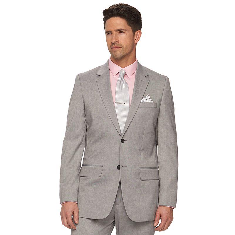 Men's Apt. 9 Sharkskin Slim-Fit Suit Jacket