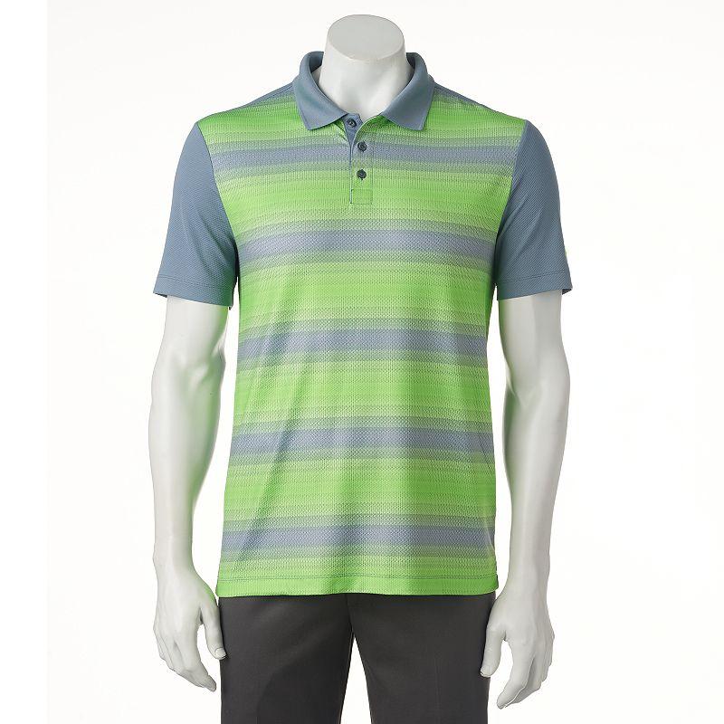 Men's FILA SPORT GOLF® Classic-Fit Striped Performance Golf Polo