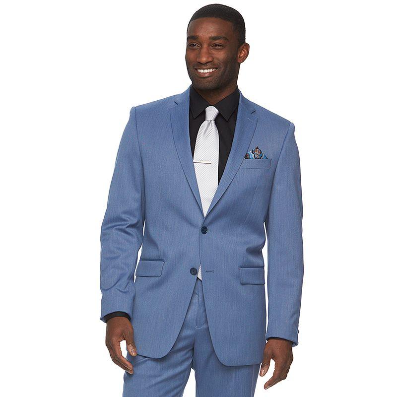 Men's Apt. 9® Extra-Slim Fit Blue Suit Jacket