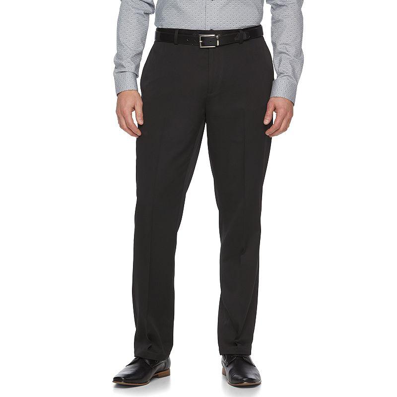 Men's Apt. 9® Extra Slim-Fit Black Tech Stretch Suit Pants