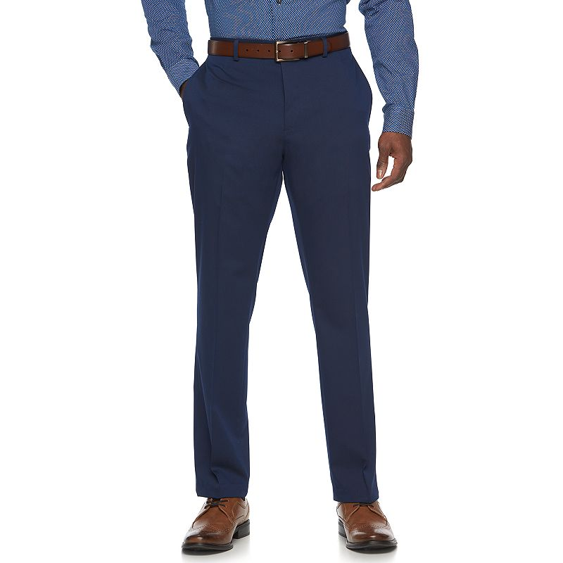 Men's Apt. 9® Slim-Fit Blue Tech Stretch Suit Pants