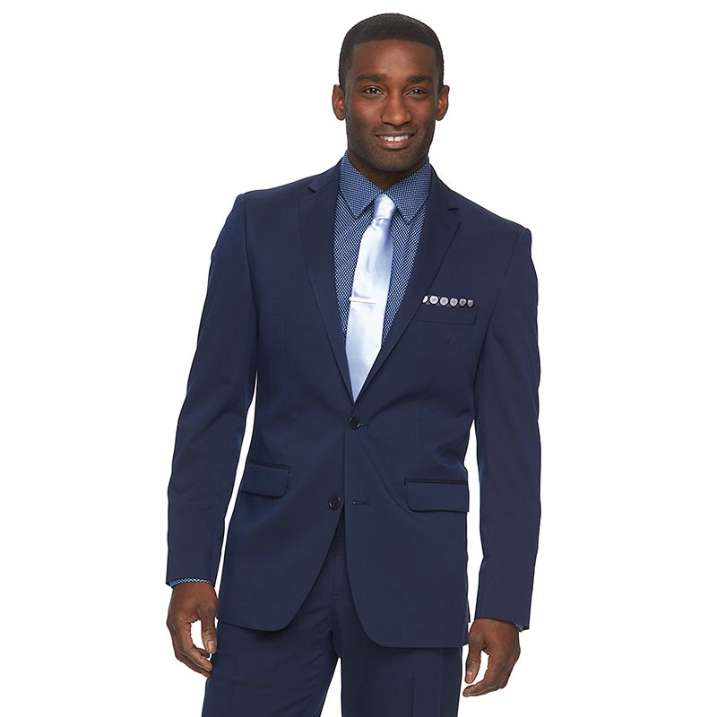 Men's Apt. 9® Slim-Fit Blue Tech Stretch Suit Jacket