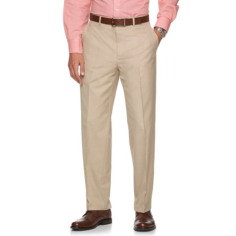 Men's Chaps Classic-Fit Tan Suit Pants
