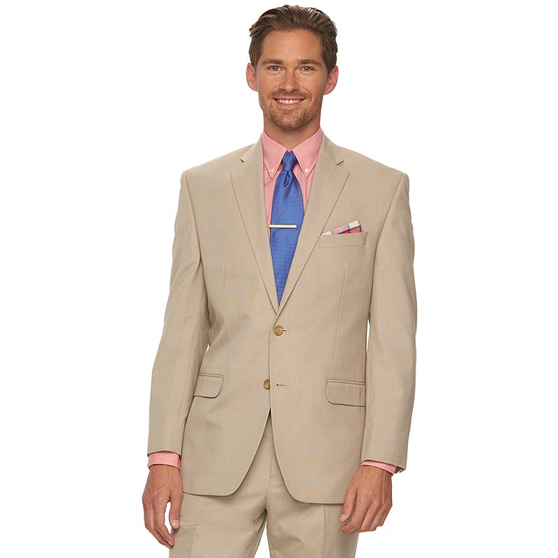 Men's Chaps Classic-Fit Tan Suit Jacket