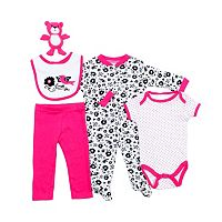 Baby Girl Cutie Pie Sleep & Play Set