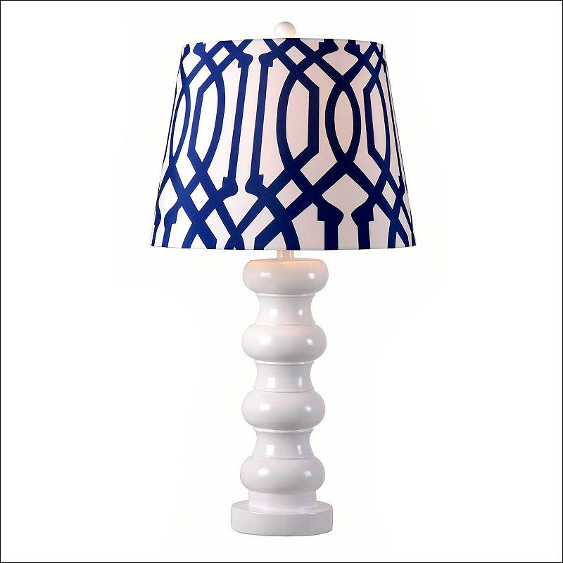 Kenroy Home Bolster Table Lamp