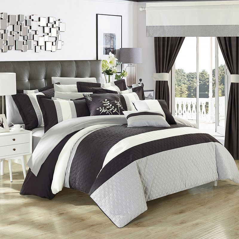 Chic Home Covington 24-piece Bed in a Bag Set