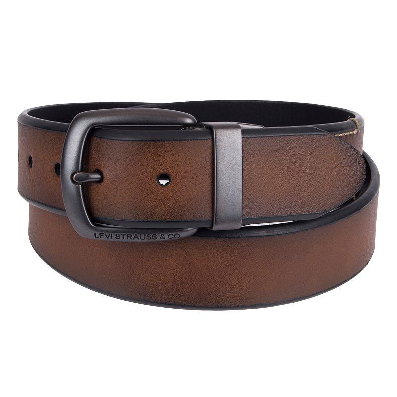 Men's Levi's Embossed Reversible Belt
