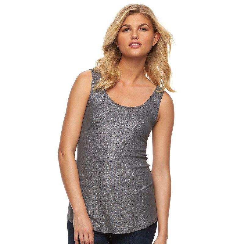 Women's Apt. 9® Basic Shimmer Tank
