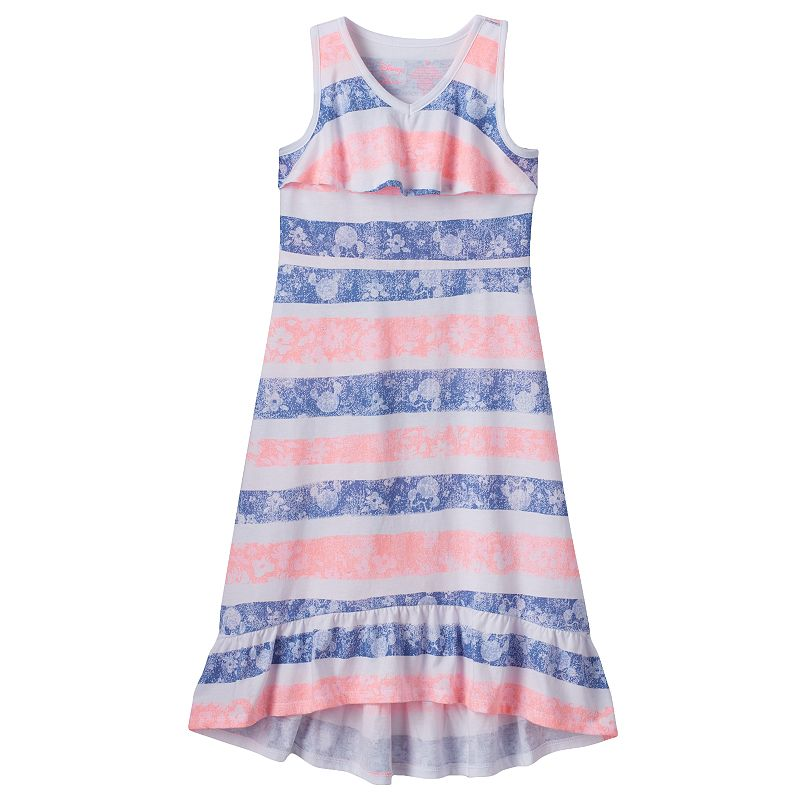 Disney's Minnie Mouse Girls 4-7 Striped Maxi Dress by Jumping Beans®