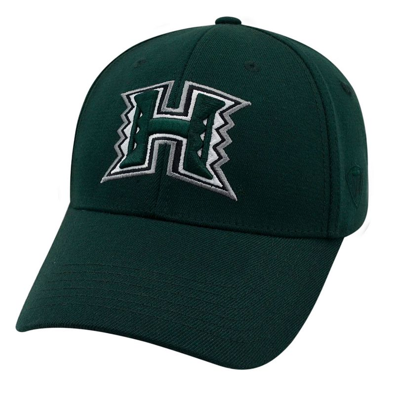 Adult Top of the World Hawaii Warriors Premium Collection One-Fit Cap