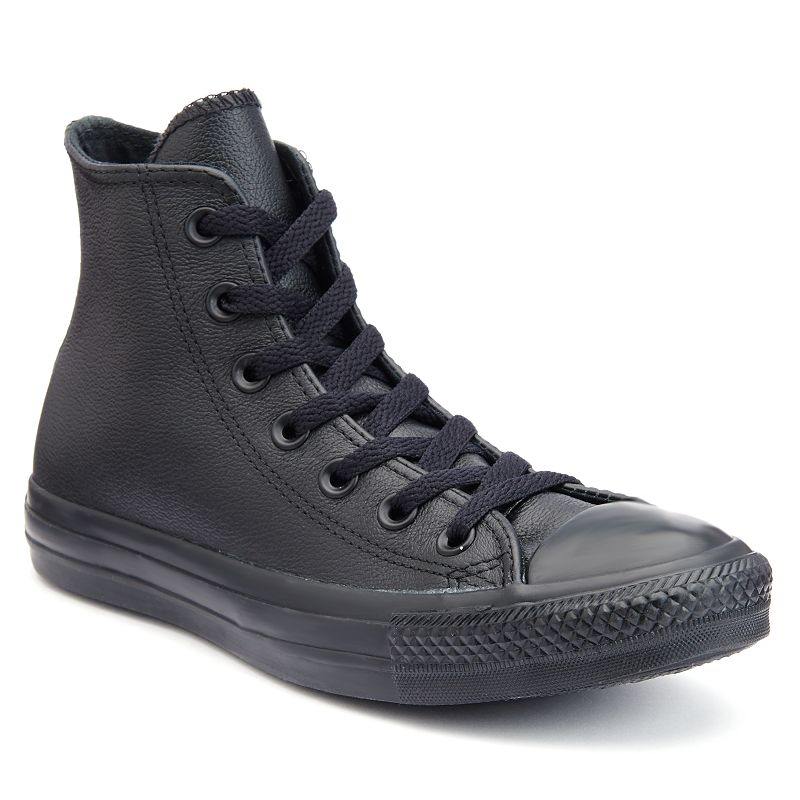 Adult Converse Chuck Taylor All Star Monochromatic Leather High-Top Sneakers