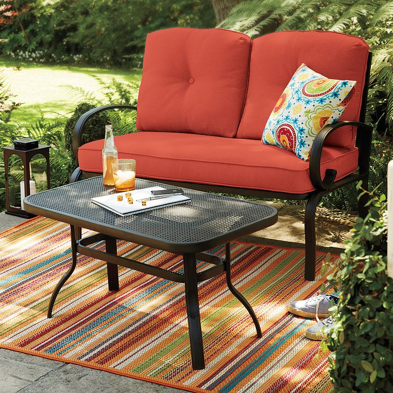 Sonoma Goods For Life Claremont Patio Loveseat Coffee Table 2 Piece Set Dealtrend