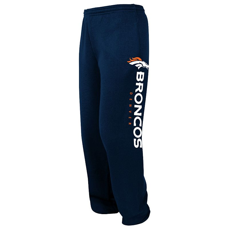 Big & Tall Majestic Denver Broncos Tipped Pass Fleece Pants