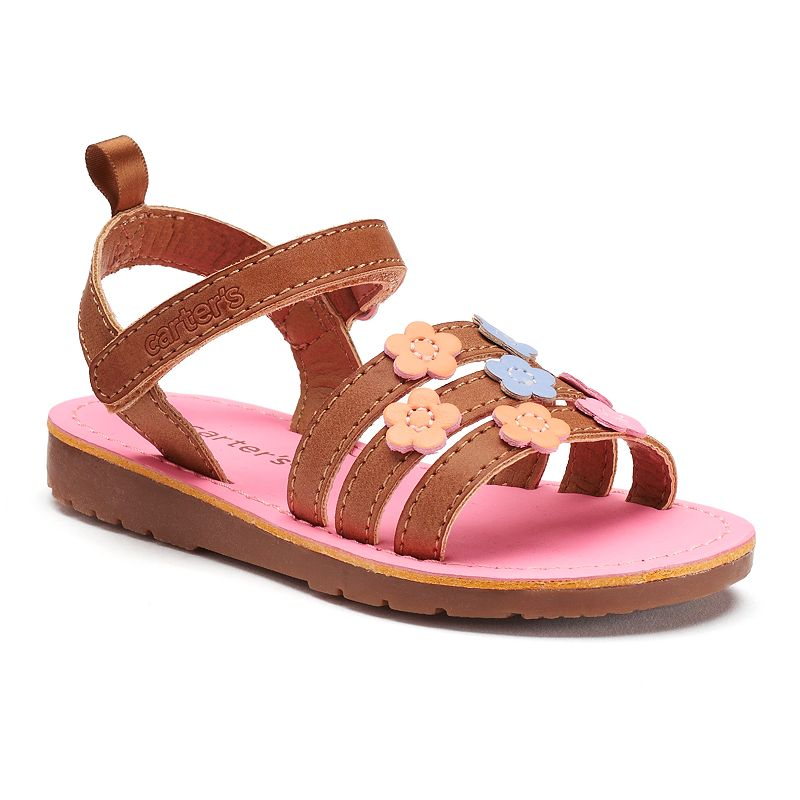 Carter's Alyssa Toddler Girls' Flower Sandals