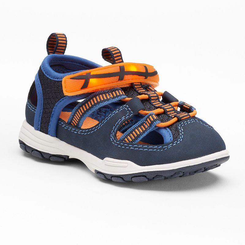 Carter's Dickson Toddler Boys' Light-Up Sandals