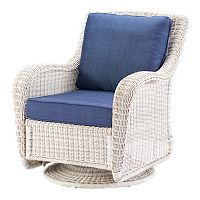 SONOMA Goods for Life™ Presidio Wicker Swivel Rocking Chair