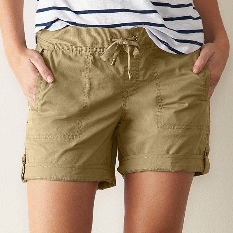 Women's SONOMA Goods for Life™ Fiona Cuffed Shorts