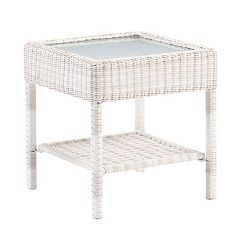 SONOMA Goods for Life Presidio Patio Wicker End Table by
