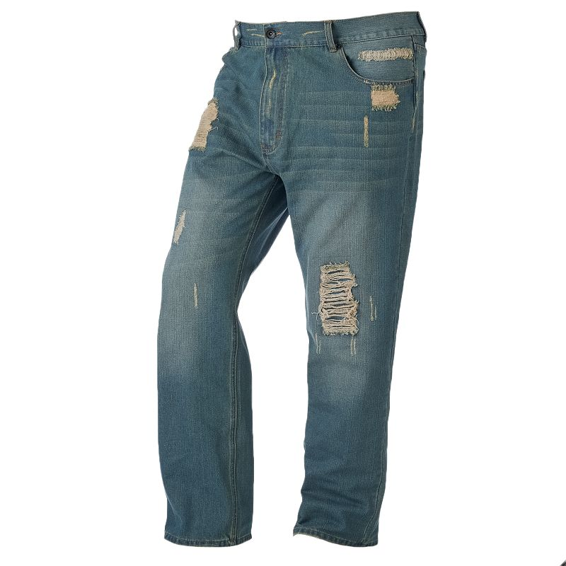 Big & Tall Rocawear Attic Jeans