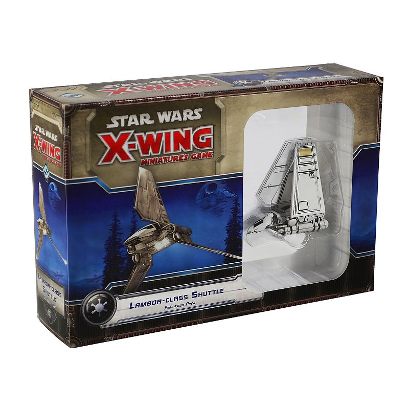 Star Wars X-Wing Miniatures Game Lambda-class Shuttle Expansion Pack by Fantasy Flight Games