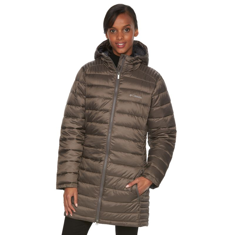Women's Columbia Frosted Ice Hooded Puffer Jacket, Size: XL, Ovrfl Oth