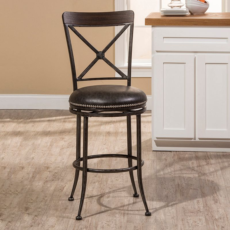 Hillsdale Caldwell Swivel Counter Stool