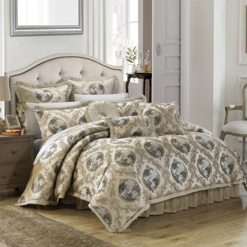 Chic home romeo amp juliet jacquard 9 piece bed set