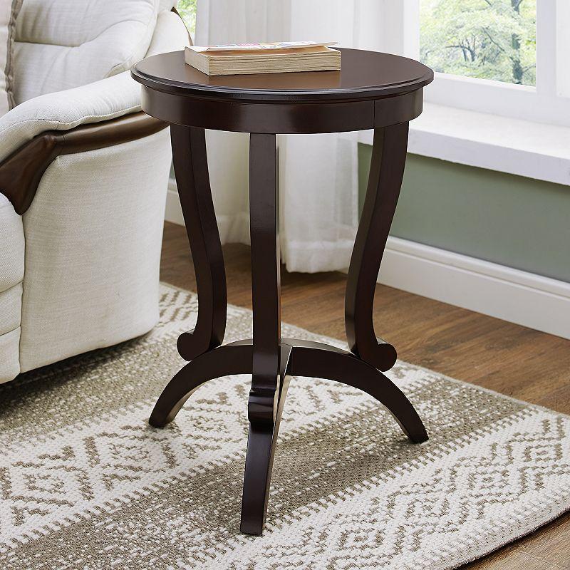 Elegant Round End Table