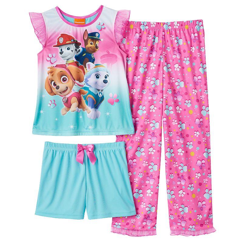 Girls 4-6 Paw Patrol 3-pc. Pajama Set