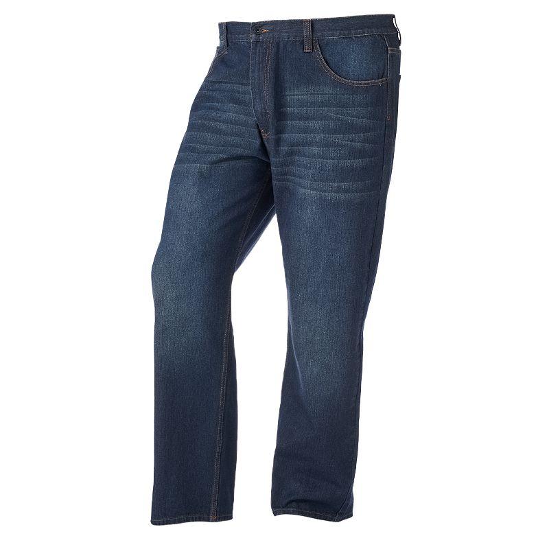 Big & Tall Rocawear Volume R-Script Jeans