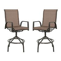 SONOMA Goods for Life™ Coronado Patio Swivel Sling Chair 2-piece Set