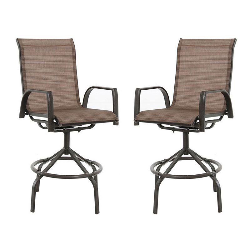 SONOMA Goods for Life™ Coronado Patio Swivel Sling Chair 2-piece Set