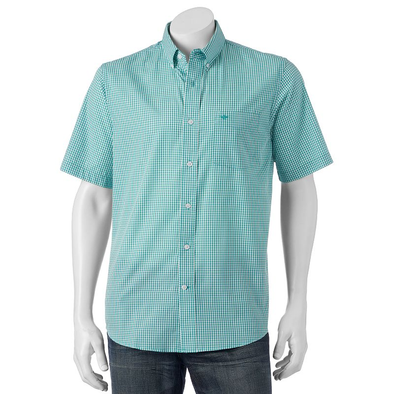 Men's Dockers Plaid Button-Down Shirt
