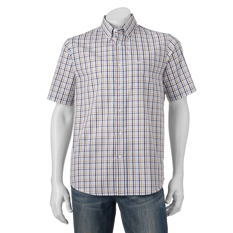 Men's Dockers Plaid Button-Down Shirt