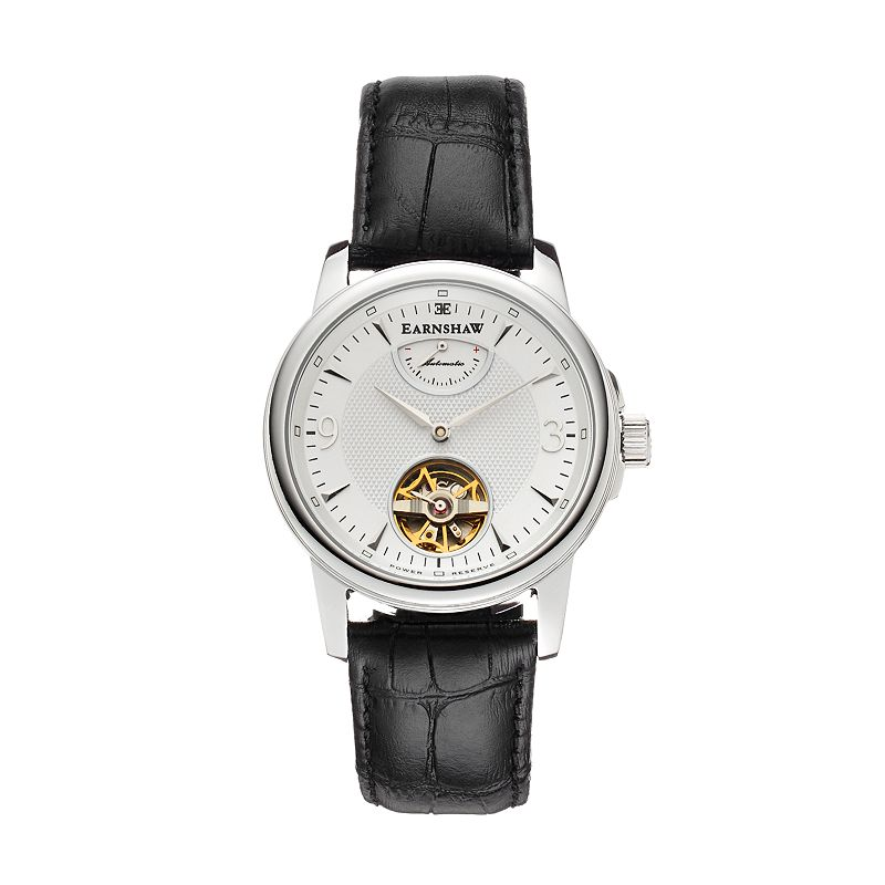 Thomas Earnshaw Men's Flinders Leather Automatic Watch