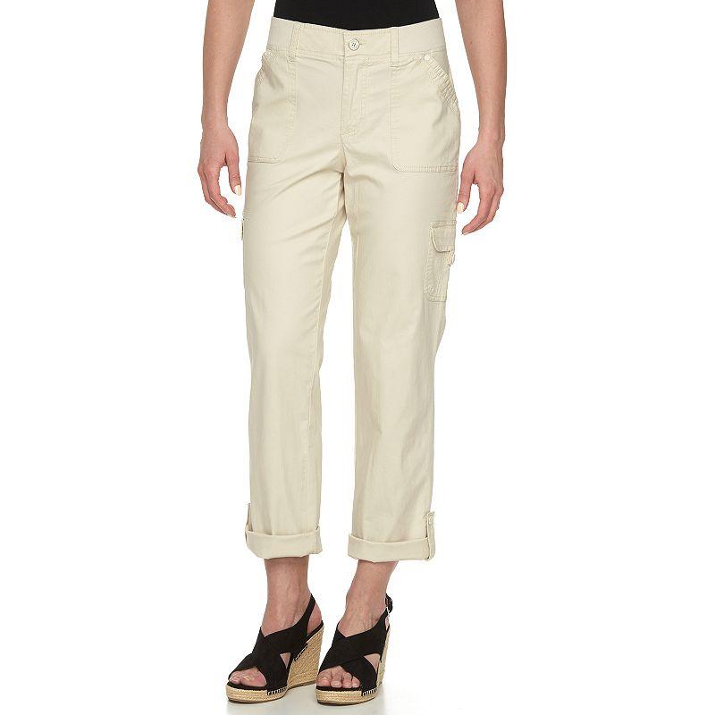 Women's Gloria Vanderbilt Convertible Cargo Pants