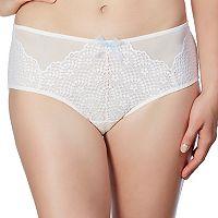 Montelle Intimates Bohemian Bridal Lace Boyshort Panty9253