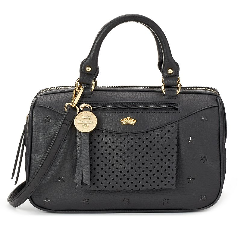 Juicy Couture Brianna Star Perforated Stars Mini Satchel