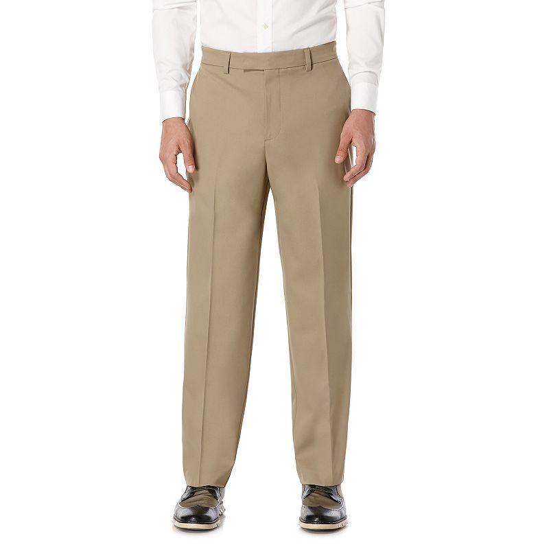 Men's Savane Active Flex Straight-Fit Performance Dress Pants
