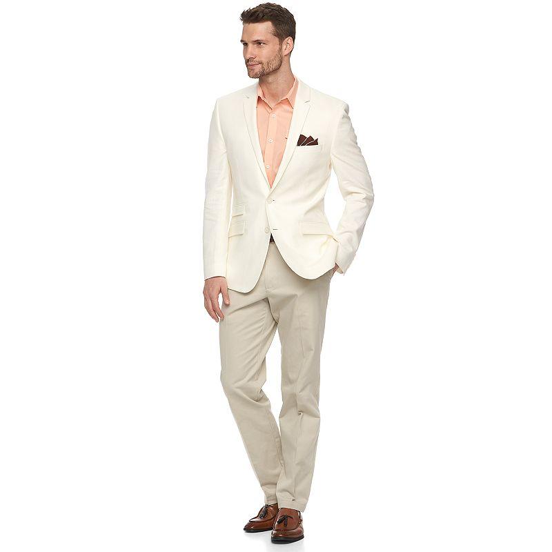 Men's Andrew Fezza Modern-Fit Linen Sport Coat