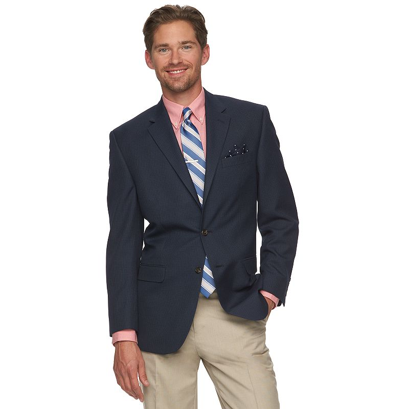 Men's Chaps Check Classic-Fit Sports Coat