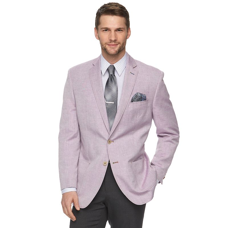 Men's Van Heusen Modern-Fit Lilac Suit Jacket