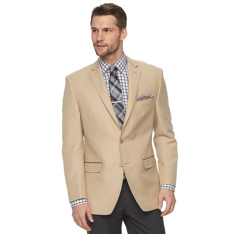 Men's Van Heusen Modern-Fit Tan Suit Jacket