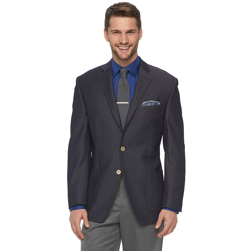Men's Van Heusen Modern-Fit Denim Twill Suit Jacket